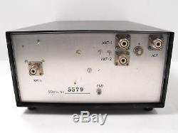 Drake MN-2000 3.5-29.7 MHz Manual Ham Radio Antenna Tuner / SWR Bridge SN 5579