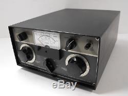 Drake MN-2000 3.5-29.7 MHz Manual Ham Radio Antenna Tuner with Orig Manual SN 2576