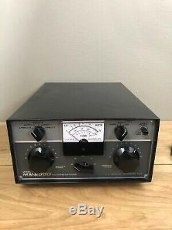 Drake MN-2000 Antenna Tuner, Matching Network, Ham radio 10-80m 2k watt