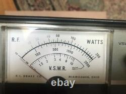 Drake MN-2000 Ham Radio Matching Network Antenna Tuner untested
