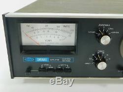Drake MN-2700 Ham Radio Antenna Tuner for Parts or Repair (bad antenna switch)