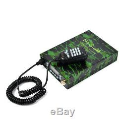 Dual-Band Car/Trunk Ham Mobile Transceiver 25W Two Way Radio+Antenna+USB Cable