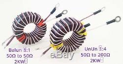 FT240-43 Balun 11 + UnUn 41 1-54 MHz 2kW