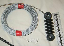 G5RV Double Size 204 Feet Superior polly Wire Antenna 160 10 meters top band