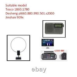 GA-450 2.30-30MHz Loop Active Antenna SDR Shortwave Radio For Deshibo 1860 1780