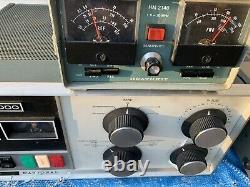 HAM RADIO AMPLIFIER NATIONAL NCL-2000 80-10 Meters AM, SSB, CW WORKS GREAT