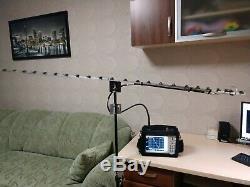 HAM radio 1296MHz Uda Yagi antenna 18dBi