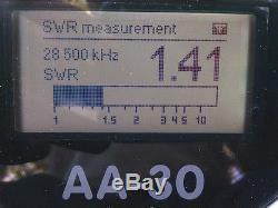 HF End Fed Antenna EFHW-4010-1K / Installation-plate / LOW SWR/ 63 feet long