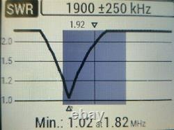 HFedz 160m/80m/40m End Fed Half Wave (491 EFHW) HF HAM Radio Antenna