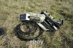 HI Q Magnetic magnetische Loop Antenne Antenna MAGLOOP DELUXE 17/20/30/40
