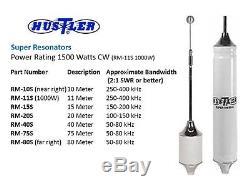 HUSTLER RM-75S 75m 1500W SUPER ANTENNA RESONATOR FOR HUSTLER HF ANTENNA MAST