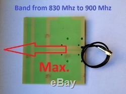 Ham radio directional antenna 868 900 Mhz LoraWAN, drone, RFID, Z-Wave, ZigBee