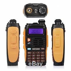 Handheld Radio Scanner 2 Way Digital Transceiver HAM VHF UHF Fire Antenna