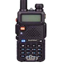 Handheld Radio Scanner 2-Way Digital Transceiver Portable EMS HAM Antenna Police