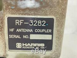 Harris High Power Hf Antenna Coupler Rf-3282 Ham Radio
