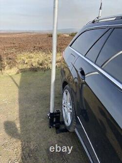 Heavy Duty Tiltable Antenna Mast Drive On Plate For 50mm Mast