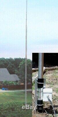 Hy-Gain AV-6160 HF 10m-160m Self Supporting Vertical Antenna, 43ft, 1500W Max