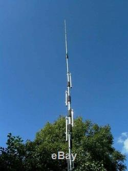 Hy-Gain DX-88 10/12/15/17/20/30/40/80 Meter Ham Radio Base Antenna