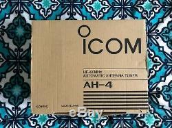 ICOM AH-4 HF Automatic Antenna Tuner Ham Amateur Radio, 120 Watts, 3.5 to 54 MHz
