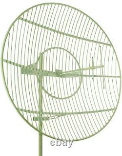 ISM Ham 900 880-960 MHz Grid Dish Parabolic Antenna 15 dBi 80 cm 31 inch round