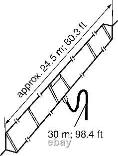 Icom AH-710 2-30MHz HF Folded Dipole inc Cable