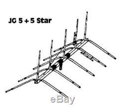 JoGunn 5x5 star 10/11 meter Base Antenna
