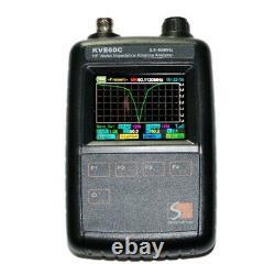 KVE-60C SWR HF Vector Antenna Impedance Graphical Analyzer Amateur DIY Ham Radio