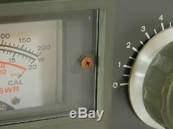 Kenwood AT-200 Vintage Ham Radio Antenna Tuner with Manual (works) SN 751045