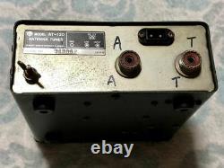 Kenwood TRIO ANTENNA TUNER AT-120 HF SSB CW ham radio #2012.30409.9600