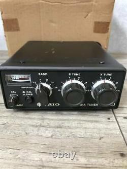 Kenwood TRIO ANTENNA TUNER AT-120 HF SSB CW ham radio Box #2009.30401.10804