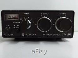 Kenwood TRIO ANTENNA TUNER AT-120 ham radio #BOF12000