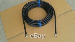 LMR-400 Ham Radio LMR Antenna PL259 to PL259 coax cable 100 FT