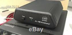 Ldg Al-100 Autotuner Alinco Dx-70 Sr8t Sr9t Ham Radio Automatic Antenna Tuner