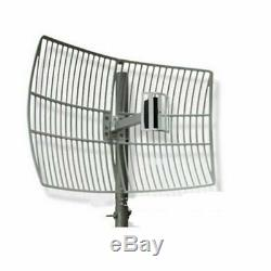 Long Range 24dBi 2.4G WIFI Wireless Grid Parabolic Antenna N Female