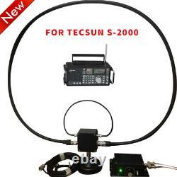 Loop Radio Antenna AM/MW Shortwave Active/Passive Kit For Tecsun S2000 Radio