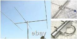 M2 6M 3SS, 6 Meter (50-54 MHz) Ham Radio Yagi Antenna, 3 ele
