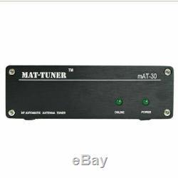 MAT-30 Automatic Antenna Tuner 120W Auto Tuner Auto. Ham Radio For Yaesu 3-54MHz