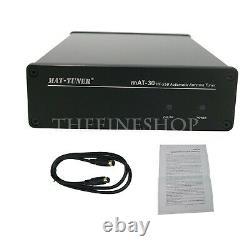 MAT-30 HF SSB Automatic Antenna Tuner 120W Auto Tuner Ham Radio for Yaesu