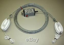 MBA-200 S Langdrahtantenne 12,5 m mit 200 Watt Balun