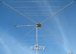 MFJ1836 HF Cobweb Ham Radio Base Antenna 6-10-12-15-17-20 meter 300W F/S