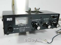 MFJ-1623 Window / Balcony Mount 30-6 Meter 200W Ham Radio Antenna with Tuner