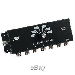 MFJ-1701 Six Position Antenna / Transmitter Switch Ham/ CB Radio 2KW PEP Free SH