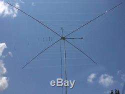 MFJ-1838 Eight Band 40-6MHF 1/2 Wave Heavy Duty Cobweb Antenna, Handles 1500W