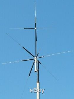 MFJ-2389 antenna HF ham radio vertical compact 8-band