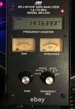 MFJ-259 Ham Radio HF VHF SWR Antenna Analyzer 1.8-170MHz