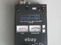 MFJ-269 HF/VHF/UHF Ham Radio SWR Antenna Analyzer With Case