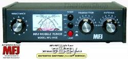 MFJ 945E Mobile Tuner, Covers 1.8 60 MHZ, 300 Watts With Antenna Bypass Switch