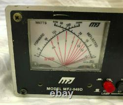 MFJ-949D MFJ Deluxe Versa Tuner II Antenna Tuner Ham Radio Meter