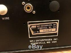 MFJ-961 Versa Tuner III Kilowatt Series 1.5KW Ham Radio Antenna Tuner 1500