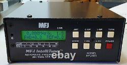 MFJ Enterprises IntelliTuner 200 Watt MFJ-929 Amateur Ham Radio Antenna Tuner